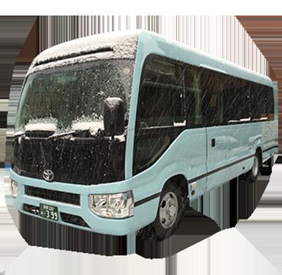 小型観光バス(日野リエッセ/トランクなし)