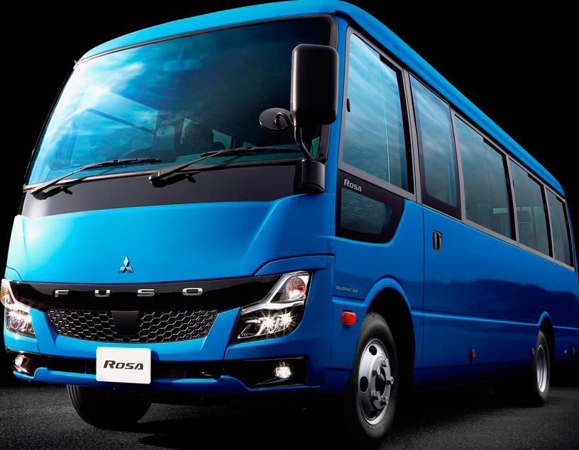 小型観光バス(三菱ふそうローザ4WD)