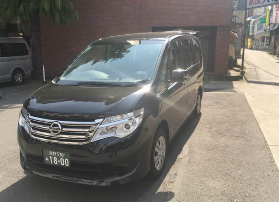 NOZAWA-ONSEN KOTSU INC.:Taxi(for 4 passenger)(Nissan SERENA 4WD)